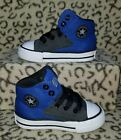 NEW CONVERSE ALL STAR CHUCK TAYLOR CT HIGH BABY TODDLER SHOES SIZE 5C BLACK BLUE