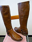 FRYE Philip Harness Tall Brown Boots with Full Zipper Backs Sz 10 Retail 35800