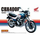 Aoshima Naked Bike 28 Honda CBX400F Tricolore 1/12 scale kit Japan new.