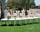 Vintage Italian Dinning Chairs by Camel International Francenigo Italy SET OF 6
