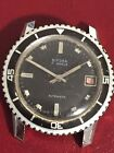 Vintage Bifora Automatic Diver Dive Watch Rotating Bezel 17 Jewels Germany