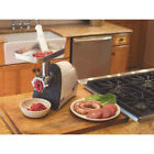 Weston 8 575-watt Heavy Duty Electric Meat Grinder Processor Kitchen Sausage