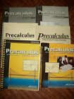 Abeka 12th Grade PreCalculus Trig Analytical Geometry Current Set Very Clean