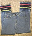 Vintage Womens Jeans Made By Outlaw Size 13 Made In The USA Hippie Groovy