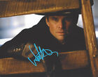 WALTON GOGGINS HAND SIGNED AUTHENTIC 'THE HATEFUL EIGHT' 8X10 PHOTO w COA ACTOR