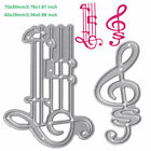 Musical Note DIY Cutting Dies Stencil Scrapbooking Album Paper Card Embossing