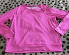 UNDER ARMOUR COLD GEAR FITTED NEON PINK LONG SLEEVE ATHLETIC TOP XL