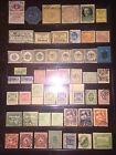 RARE Unique Collection Lot 1800s 1900s GERMAN Private Local Stamps Labels++