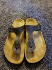 Naot Womens Sandals Brown Size 9 European 40 in Perfect Condition