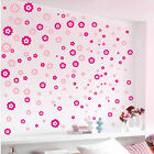 Flowers Mural Removable Wall Stickers Art Decal Kids Room Home Decor Decorations