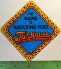 Genuine Funhouse Pinball Promo Plastic Speaker Cutout GAME WATCHING YOU! NOS  a6