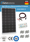 12V 200W Xplorer German Cell Solar Panel Kit  Caravan  Boat  Motorhome