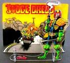 Genuine Judge Dredd Pinball Promotional Plastic Standup Assembly NOS *SEALED a21