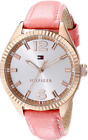 Tommy Hilfiger Ladies Chrissy Rose Gold Pink Leather Strap Watch - 1781516