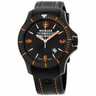 Wenger Swiss Army Military Black Dial Silicone Strap Men's Watch 79031