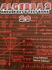 Teaching Textbooks Algebra 2 20 Version Answer Key And Test Bank