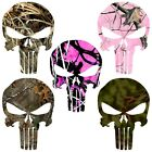 Camo Punisher Decal Camouflage Skull Sticker Choose Pattern