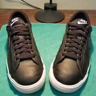 Nike Tennis Classic AC Mens Size 85 Black Perforated Leather