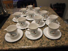 Corelle Coordinates Outer Banks Discontinued Lighthouse Set of 12 Cups Saucers
