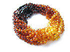 Amber Wholesale Lot of 10 Rainbow Color Polished Baltic Amber Baby Necklaces
