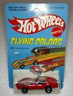 HOT WHEELS FLYING COLORS CORVETTE STINGRAY PRODUCTION METALLIC RED UNPUNCHED NEW