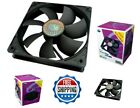 4 Pack 120mm Computer Case Cooling Fan CPU Cooler Sleeve PC Cooling