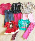Lot Of 10 Pieces Baby Toddler Girls Clothes Size 24 Months 2T