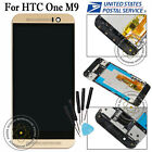 Full Replacement For HTC One M9 LCD Display Touch Screen Digitizer+Frame Gold US