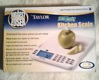 The Biggest Loser Cal Max Digital Kitchen Scale 11 lb by Taylor 3847BL NEW 227