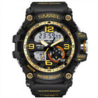SMAEL Military Men's Analog & LED Digital Alarm Stopwatch Waterproof Wrist Watch