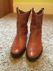 Franco Sarto Womens Window2 Ankle Boot Cuoio Size 9 Barely Used