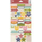 Jillibean Soup Alphabet Soup 2 Cardstock Stickers A Fun Addition To All Your Pa