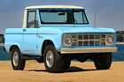 1966 Ford Bronco 1966 Ford Bronco Fully Restored Excellent Condition RARE Half CAB U14 Truck