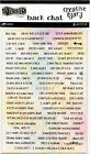Dyan Reaveleys Dylusions Creative Dyary Back Chat Stickers