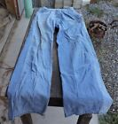 Vintage Mens Used Blue Denim Dee Cee Jeans Carpenter 28 x 34 Old Clothes