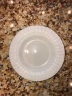 18 Thomson Pottery Maison White Embossed Rim Salad Plates..from $100M Estate