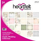 Heartfelt Creations Double Sided Paper pk Classic Wedding Collection HCDP1 279