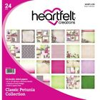 Heartfelt Creations Double Sided Paper pk Classic Petunia Collection HCDP1 278