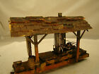 On30 Steam Donkey Logging Wench Diorama custom weathered lot 14