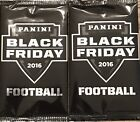 2 THIN PACKS-2016 PANINI BLACK FRIDAY FOOTBALL PROMO PACKS ELLIOT?? HOT PROMO!!