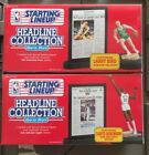 1992 STARTING LINEUP Headline Collection LARRY BIRD, DAVID ROBINSON  -SEALED