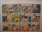 Miss Cairo Jones Sunday by Bob Oksner from 9 23 1945 Half Page Size Full Color