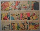 Miss Cairo Jones Sunday by Bob Oksner from 9 9 1945 Half Page Size Full Color