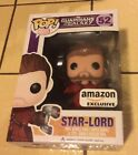 FUNKO POP! GUARDIANS OF THE GALAXY #52 POP STAR LORD AMAZON EXCLUSIVE Unmasked M