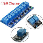 5V 1 2 8 Channel Relay Board Module Optocoupler LED for Arduino PiC ARM AVR