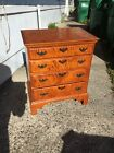 Eldred Wheeler tiger maple Chest Of Drawers