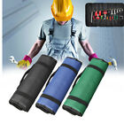 Hardware Tool Roll Bag Plier Screwdriver Spanner Carry Case Pouch 22 Pockets