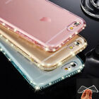 Bling Diamond Soft TPU Silicone Ultra Slim Rubber Case Cover For iPhone 8 7 Plus