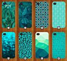 Turquoise Pattern Phone Case Cover Cool Design Green Dark Marble Novelty 163