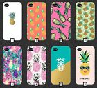 Pineapple Phone Case Cover Gold Pink Pattern Tumblr Novelty Fruit Cool Funny 147